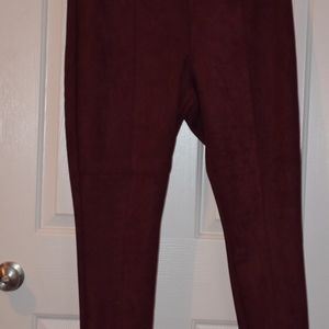 Burgundy/Maroon Stevie Pants